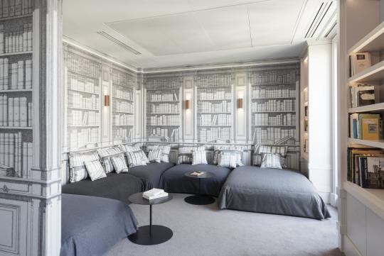 дизайн современного офиса- головной офис Твиттер в Париже