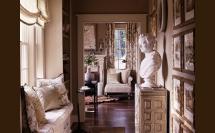 интерьер загородного дома, сделанный американским диайнеров Барри Диксоном