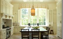 белая кухня в георгианском стиле